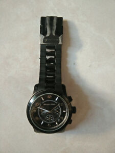 Michael Kors Black Chronograph Watch