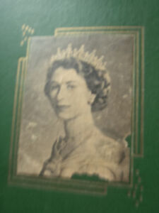 Large Vintage Scrap Book of Queen Elizabeth 1950,s