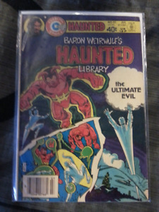 Baron Weirwulfs Haunted Library Comic # 50    1980
