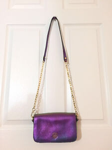 Tory Burch Authentic Leather Chain Purse Perfect Condition