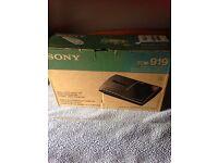 Sony cassette recorder brand new