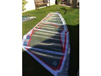 North Ice 5.3m windsurfing sail