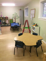 Oakville Daycare - 15 months OR walking to 5 years old