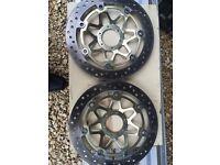 1999 fireblade front discs exellent cond
