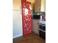 Swan retro fridge freezer