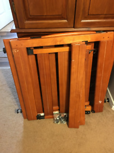 2 Solid Wood Baby Gates
