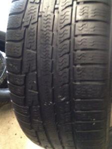 2  Nokian   winter tires 225/55/17