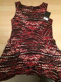 Miso wool effect dress