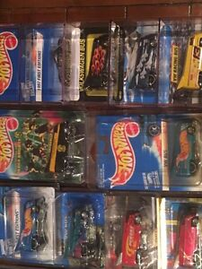 Have 14 hot wheels Volkswagen buses for sale very rare