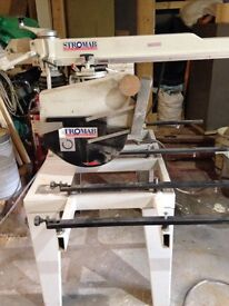 Radial arm saw 2ft cut