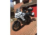 Kawasaki Versys Tourer, ABS, 65 Plate (2015) new model, 4700 miles.