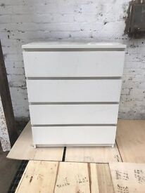 WHITE SLIDE OUT DRAWERS