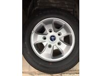 Ford transit custom alloys split new