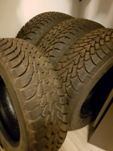 P195/65R15 x4 goodyear nordic brand new