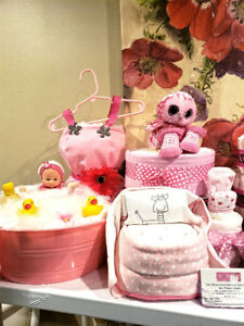 Baby basket & diaper cakes WOW gifts & fun memories!