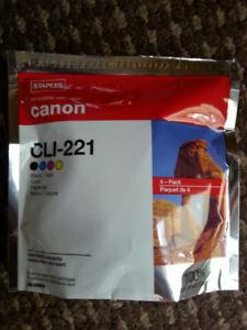 BNIB - STAPLES BRAND CANON RE-FILL INK #CLI221
