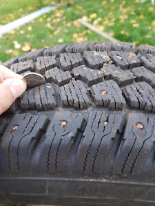 Winter tires on rims for sale. Prince George British Columbia image 4