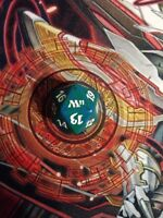 Magic the Gathering M11 Spin Down Life Counter Die