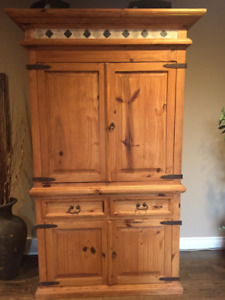 Hand Crafted Solid Wood Cupboard