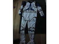 Star Wars storm trooper outfit men's size large
