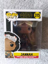 Brand new funko pop star wars Jannah