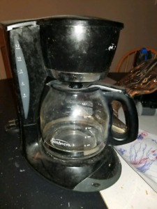 Sunbeam coffee maker.
