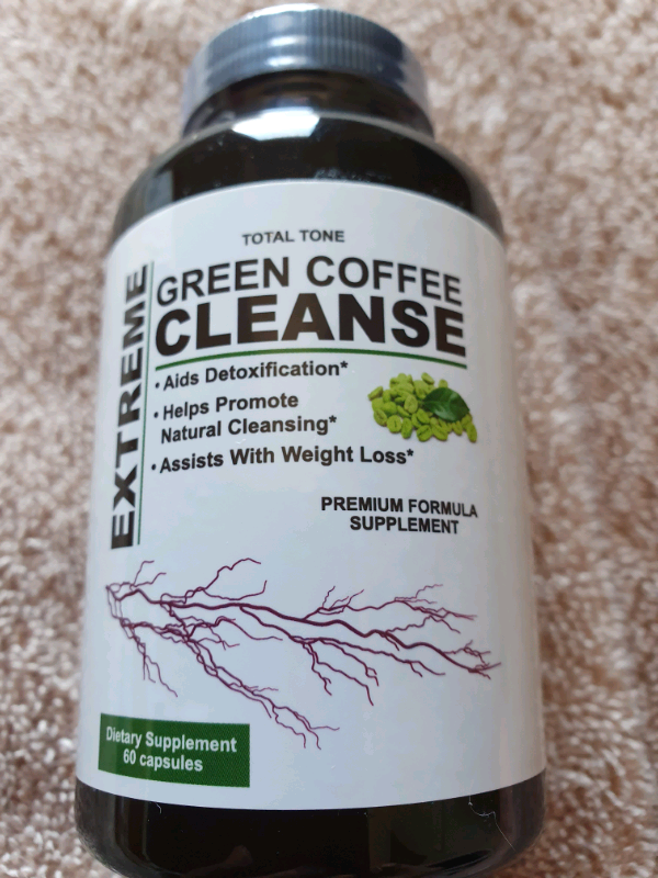 Total Tone Extreme Green Coffee Cleanse In Brackley