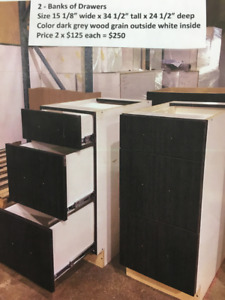 CABINETS/BRAND NEW/BUILT BY LOCAL BUSINESS