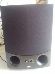 PBS Speakers Powered Subwoofer Subsonic 5i