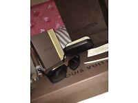 Genuine Louis Vuitton evidence sunglasses