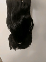 "8"" bodywave human hair in 1b"