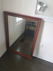 Huge mirror for sale frame alone is $80