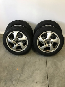 GREAT DEAL - PORSCHE OEM RIMS & TIRES FOR SALE