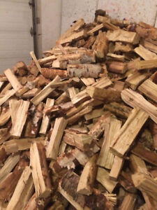"""Dry Birch Firewood Bags """"FREE Delivery"""" or North Edmonton Pickup"""
