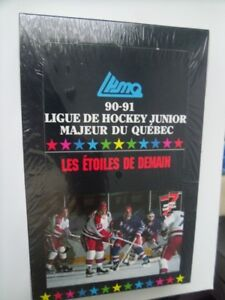 1990-91-7th Inning Sketch Quebec Hockey-Factory Sealed Box.
