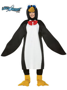 Adult-Lightweight-Animal-Penguin-Fancy-Dress-Costume-Mens-Ladies-Outfit-BN