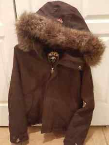 New (tna) jacket with fur. (Price reduced) $65 West Island Greater Montréal image 1