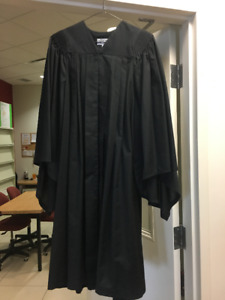 Harcourts academic gown and morterboard