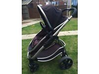I candy strawberry buggy and carrycot separate