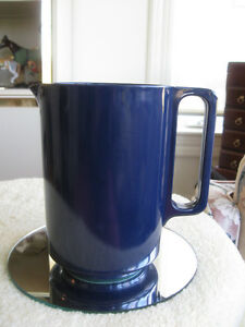 HEAVY MOLDED HANDLED PITCHER