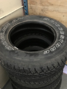 Original Jeep Wrangler Rims (& Tires)