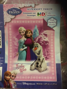 New Elsa and Anna blanket new in packaging