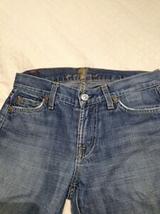Seven for all mankind women's jeans size 26