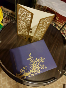 Wedding Invitation Cards and Favour Bags