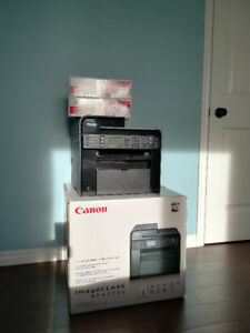 All-In-One Laser Printer with Scanner, Copier and Fax