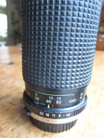 Tokina Olympus Mount 80-200 f4.5 telephoto lens with 3 filters