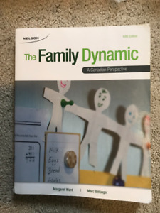 FRHD1020: The Family Dynamic: A Canadian Perspective 5th edition