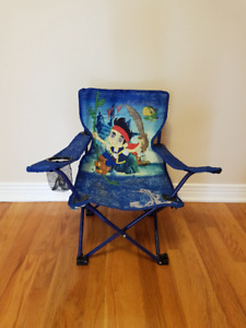 Kids Camping Chair /w Bag - Jake and The Never Land Pirates
