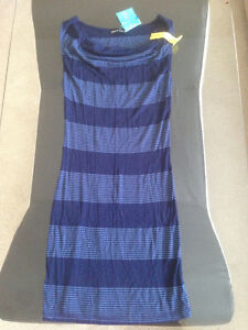 NWT Blue Striped Dress * Size Small * Edmonton Edmonton Area image 1