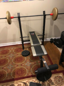 Bench Press & Excercise Equipment